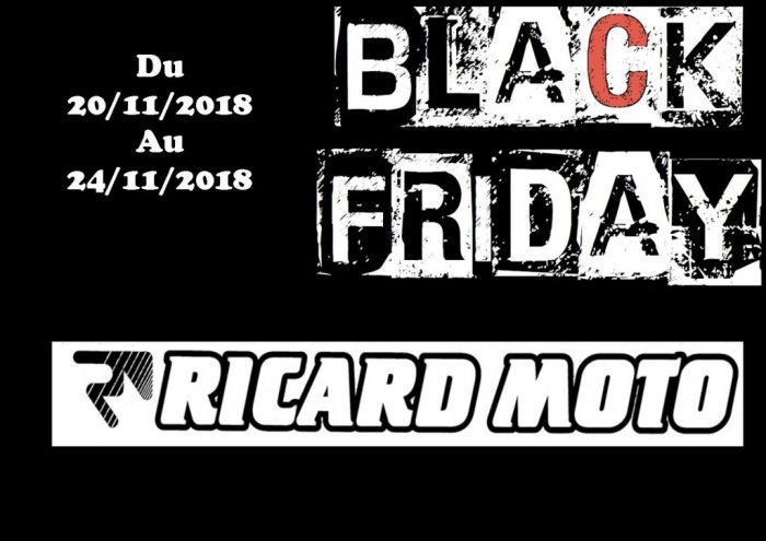 BLACK FRIDAY DU 20/11/2018 AU 24/11/2018 JUSQU  A -40%
